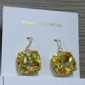 🎅Tory Burch Square Zircon Earrings